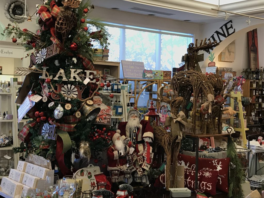 christmas gift shopping in north carolina