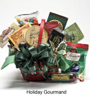custom holiday gift baskets for delivery