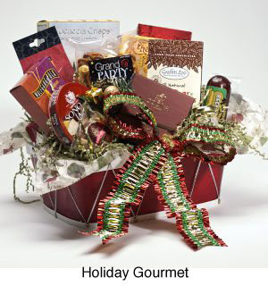 made-to-order holiday gift baskets